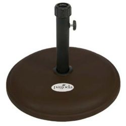 Pagoda Resin Chocolate Parasol Base - 14Kg