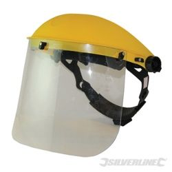 Silverline Clear Face Shield Visor